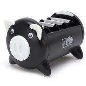 Olpchee Creative Pig Plastic Desk Desktop Supplies Organiser Remote Controller Cell Phone Pens Home Office Sundries Storage Box Holder