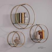 Ellison Drum Cage Shelves S/3