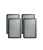Ximoon 4 Pack HEPA Exhaust Vacuum Filter for Kenmore EF-1, 86889, 20-86889, 40324 & Panasonic Part MC-V199H