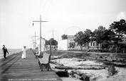 1906 Boardwalk & Amusement Park, Pine Beach, VA Vintage Photograph 22cm x 28cm