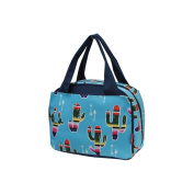 American Sarape Cactus Print NGIL Insulated Lunch Bag