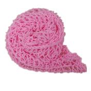 Ladaidra Photography Blanket Soft Comfortable Thread Knitting for Baby Infant Newborn Pink