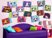 Monster High Framed Minis Wall Decals