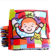 Leegor Good Night Baby Intelligence Development Learn Picture Cognize Soft Book Education Toy Birthday Present