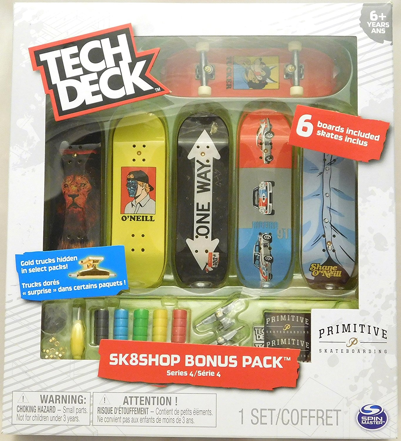 Tech Deck - Sk8shop Bonus Pack Series 4 - Primitive