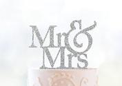 Glitter Mr & Mrs Cake Topper ¨C Custom Wedding Cake Topper Glitter