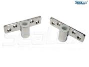 SeaLux Marine 316 Stainless Steel Side Mount Oarlock Sockets for 1.3cm shank