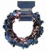 Momentum Brands Stars and Stripes Wire Garland