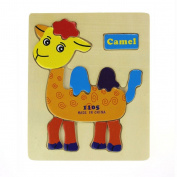 TRENDINAO Kids Early Learning Toys Educational Puzzle Jigsaw Camel