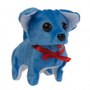Animatronic Walking Barking Toy Dog Kids Battery Operated Chihuahua Wagging Tail