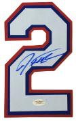 Josh Hamilton Texas Rangers Signed Jersey Number JSA