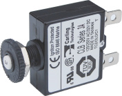 Blue Sea Systems Push Button Reset-Only CLB Circuit Breakers with Quick Connect Terminals