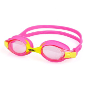 Kids Swimming Goggles Silicone Glasses HD Anti-fog Waterproof for 3-13 Years Old Children