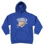 Oklahoma City Thunder NBA Big Boys Youth 8-20 Performance Sweatshirt Hoodie, Blue