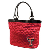 Texas Tech University Quilted Tote, Bright Red