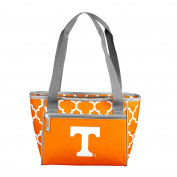 NCAA Tennessee Volunteers 16 Cooler Can Tote, Tangerine, One Size