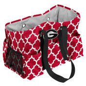 Collegiate Patterned Muli-pocketed Junior Caddy Tote