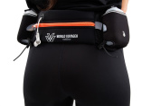 Premium Quality No Bounce Runners Hydration Belt With Reflectors, Smartphone Pocket & BPA free Water bottles