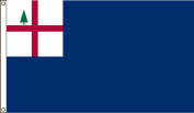 America's Flag Company 0.9m by 1.5m Nylon Bunker Hill Historical Flag with Canvas Header and Grommets