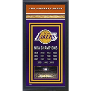 Photo File Los Angeles Lakers Framed Championship Photo