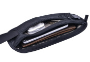 YUYI RFID Money Belt, Wallet, Pouch, Bumbag, Fanny Pack - With Built In RFID Protection Providing Safe Travel and Security Against Identity Theft