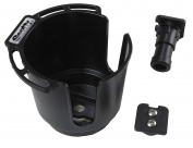 Scotty 311 Drink Holder with Bulkhead Gunnel Mount and Rod Holder Post Mount - White