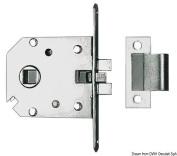 Mortise lock,chr.brass,60x70mm