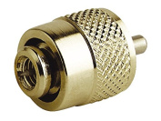 PL259 GOLD-PLATED SOLDERLESS CONNECTOR