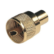 Glomex PL259 Connector Gold Plated Twist on for RG58