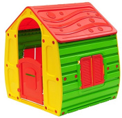 Starplay Magical Playhouse, Primary Colour Combination/Red/Green/Yellow