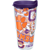 TERVIS CLEMSON TIGERS ALL OVER WRAP 710ml INSULATED TUMBLER