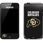 University of Colorado iPod Touch (4th Gen) Skin - University of Colorado Buffaloes Vinyl Decal Skin For Your iPod Touch
