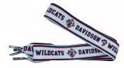NCAA Davidson Wildcats Shoelaces, Red/Black, One Size