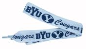 NCAA Byu Cougars Shoelaces, Navy/White, One Size