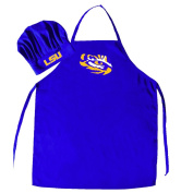 LSU TIGERS CHEF HAT AND APRON