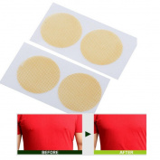 Ularma 5 Pairs Men Nipple Cover, Instant Lift Men Breast Lifts Invisible Bra Tape Boob Shape Nipple Cover