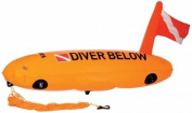Mares Torpedo Buoy - Orange/Orange