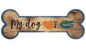NCAA Florida Gators 30cm x 11cm Dog Bone Wood Sign