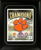 NCAA Clemson Tigers 2016 National Champions Deluxe Frame, 28cm x 36cm , Black