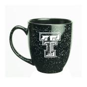 Texas Tech Red Raiders 440ml Deep Etched Black Bistro Mug