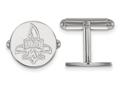 LogoArt Sterling Silver University Of New Orleans Cuff Link