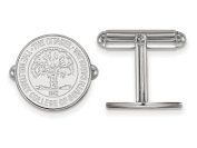 LogoArt Sterling Silver the Citadel Crest Cuff Link