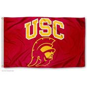 USC Trojans Trojan Head Flag