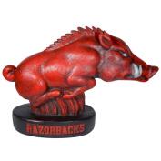 "Stone Mascots - University of Arkansas Razorback ""Tusk"" College Stone Mascot"