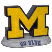 "Stone Mascots - University of Michigan ""M"" College Stone Mascot"