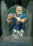 Danny Wuerffel autographed Football Card (Florida) 1997 Press Pass #39 Rookie - College Cut Signatures