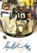 Ray Edwards autographed Football Card (Purdue) 2006 Press Pass Rookie - College Cut Signatures