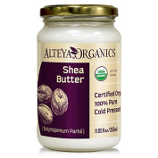 Alteya Organic Shea Butter 350ml - 100% USDA Certified Organic Pure Natural Refined Shea Butter