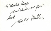 Bill Willis Autographed - Hand Signed Ohio State Buckeyes OSU - Cleveland Browns 7.6cm x 13cm Index Card - College & NFL Hall of Fame - Deceased 2007