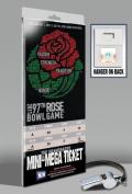 2011 Rose Bowl Mini-Mega Ticket - TCU Horned Frogs